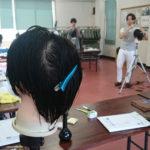 レザーカットのお勉強っす!