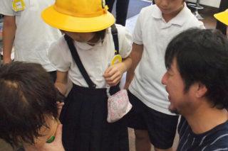 黄色い帽子を被ったカワイイお客さまがご来店
