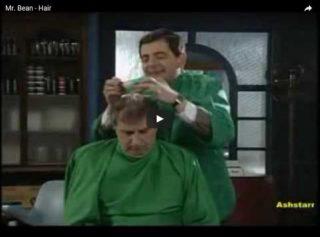 Mr. Bean の床屋さん マジ、ヤバいっす。