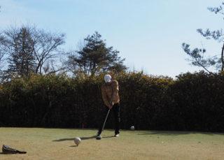ゴルフはそんなに甘いモノじゃないと痛感。