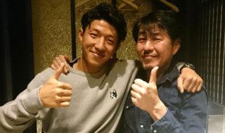 齋藤恵太選手とお食事