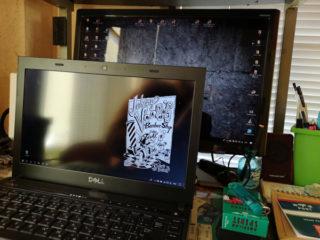 再インストールしたノートPCの設定完了~。