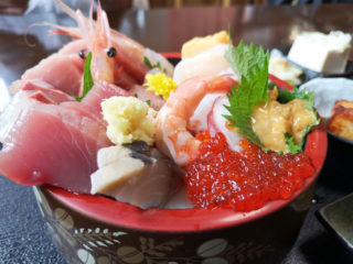 水戸から美味しい海鮮モノを食べたけりゃ 海とは反対方向に行くべし!