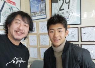 茂木選手~ 琉球での活躍期待していま~す。