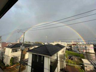 虹が水戸ホーリーホックの勝利のお知らせ